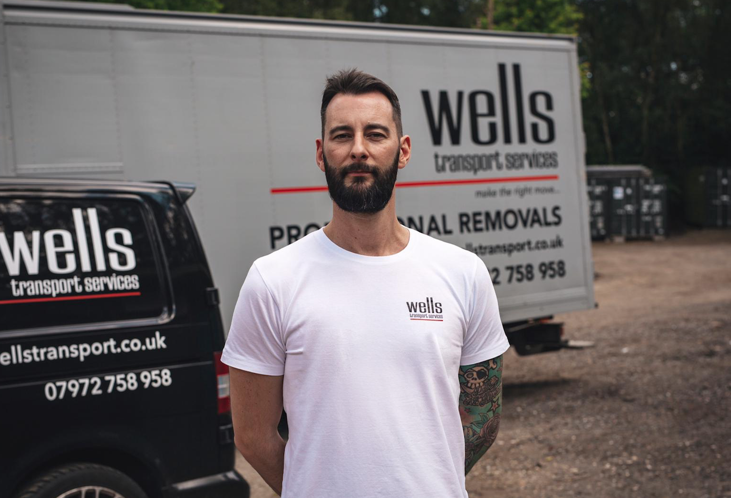 Image of Tom Moore from Wells Transport Services